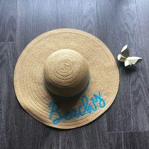 Charming Charlie Accessories - Beachy Sun Hat